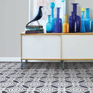 FloorPops Peel and Stick Self Adhesive Floor Tiles - Sienna