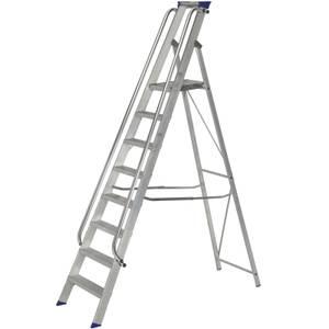 Werner Shop Step Ladder - 8 Tread