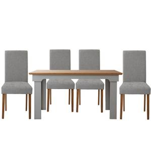 Diva 4 Seater Dining Set - Grey