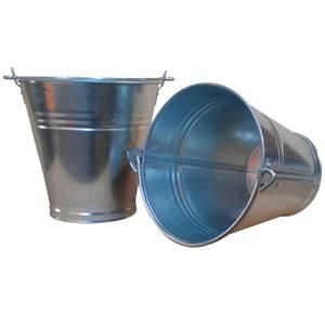 Galvanised Bucket 13L