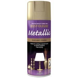 Rust-Oleum Gold - Metallic Spray Paint - 400ml
