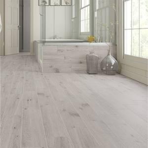 Forestina Wood Effect Grey Floor Tiles - 600 x 150mm