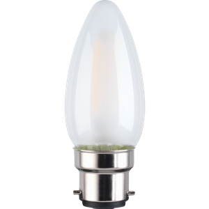 TCP Filament Candle Coat 40W BC Cool Dimmable Light Bulb