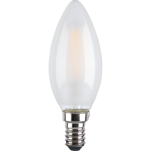 TCP Filament Candle Coat 40W SES Cool Dimmable Light Bulb