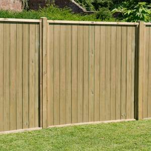 Forest Vertical Tongue & Groove Fence Panel - 6ft - Pack of 3