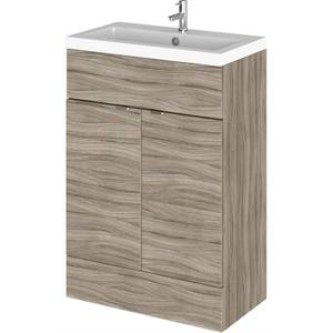 Balterley Dynamic 600mm Vanity Unit with Basin - Driftwood