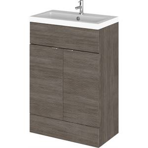 Balterley Dynamic 600mm Vanity Unit with Basin - Grey Avola