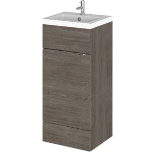 Balterley Dynamic 400mm Vanity Unit with Basin - Grey Avola