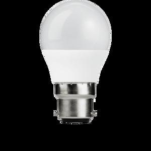 TCP LED Globe 60W B22 Coat Warm Light Bulb - 2 pack