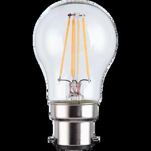 TCP Filament Globe Clear 40W BC Warm Dimmable Light Bulb