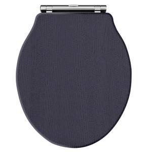 Balterley Harrington Curved Toilet Seat - Blue