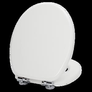 Resonance White Toilet Seat