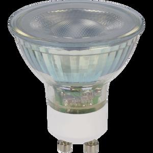 TCP LED Glass GU10 50W Warm Dimmable Light Bulb - 4 pack