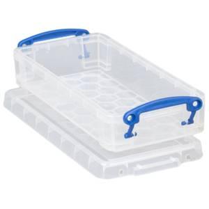 Really Useful Storage Box - Clear - 0.55L