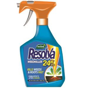 Resolva 24H Weedkiller Ready To Use - 1L