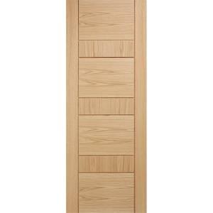 Edmonton Internal Prefinished Oak Door - 686 x 1981mm