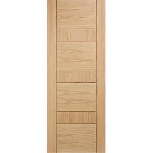 Edmonton Internal Prefinished Oak Fire Door - 838 x 1981mm