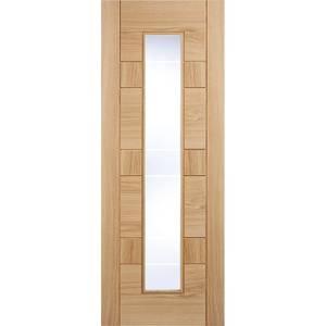 Edmonton Internal Glazed Prefinished Oak 1 Lite Door - 838 x 1981mm