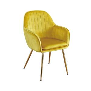 Lara Chair - Set of 2 - Ochre Yellow