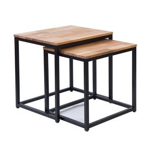 Mirelle Nest of 2 Tables - Black