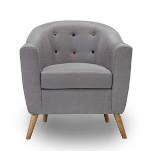 Hudson Armchair - Grey
