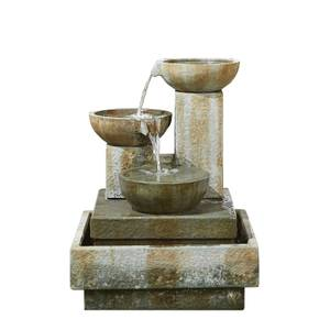Stylish Fountains Patina Bowls Water Feature