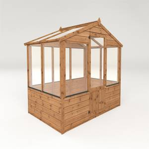 Mercia (Installation Included) 4x6ft Traditional Greenhouse