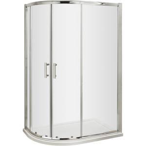Balterley Offset Shower Quadrant - 900 x 760mm (6mm Glass)