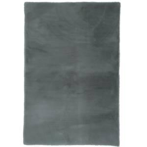 Luxe Faux Fur Rug - Grey - 80x120cm