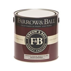 Farrow & Ball Estate Eggshell School House White No.291 - 2.5L