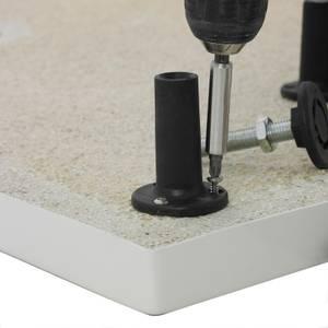 Balterley Shower Tray Leg Set with Straight Plinth - 1700 x 1000mm