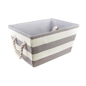 Large Stripe Basket