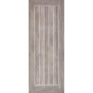 Mexicano Internal Light Grey Laminate 5 Panel Door - 686 x 1981mm