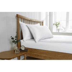 Behrens King Fitted Sheet - White