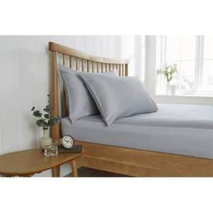 Behrens Double Fitted Sheet - Grey