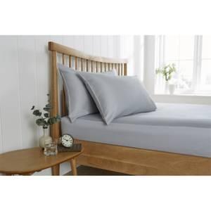 Behrens Pillowcase Pair - Grey
