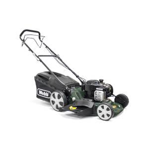 Webb High Wheel Petrol Rotary Mower 18In
