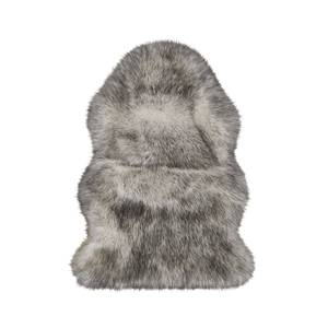 Faux Fur Sheepskin Rug - White Tipped