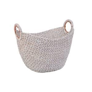 Oval Basket - White