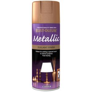 Rust-Oleum Copper - Metallic Spray Paint - 400ml