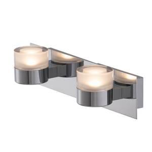 Luna 2 x 6w Bathroom Wall Light