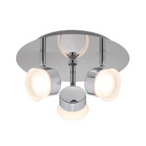 Paisley LED Bathroom Round Plate Spotlight - 3 x 4.5W