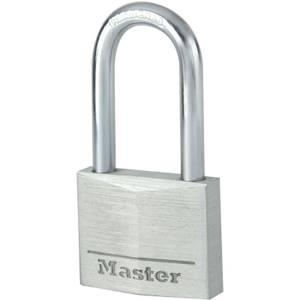 Master Lock Aluminium Long Shackle Padlock - 40mm