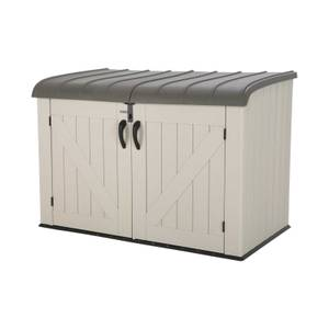 Lifetime 6x3.5 ft XL Horizontal Storage Shed