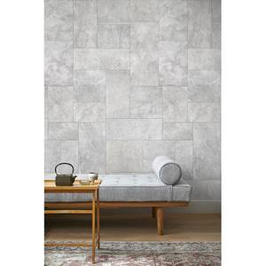 Grandeco Concrete Limestone Grey Digital Wallpaper Mural