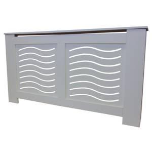 Wave Grey Radiator Cover - Large