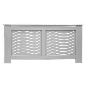 Wave Grey Radiator Cover - Extra Large