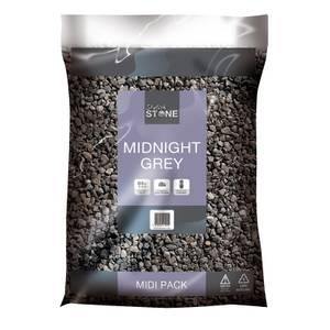 Stylish Stone Midnight Grey - Midi Pack - 9kg