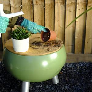 Outside Gang Freebird Outdoor Cool Box Table Integrated Ice Bucket - Safari
