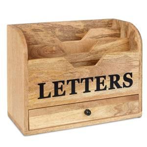 Wood Letter Holder